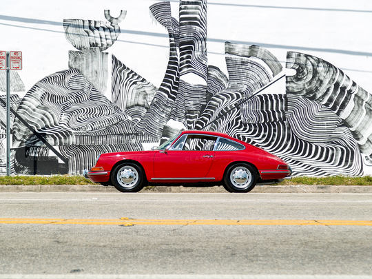 This remarkable car embodies the essence of the 911.