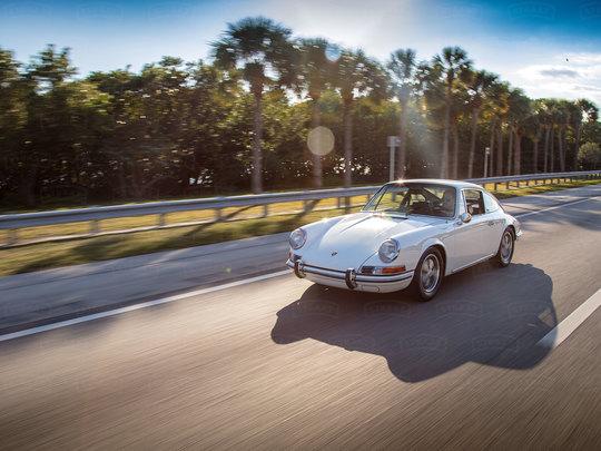 Understated Classic Porsche Style
