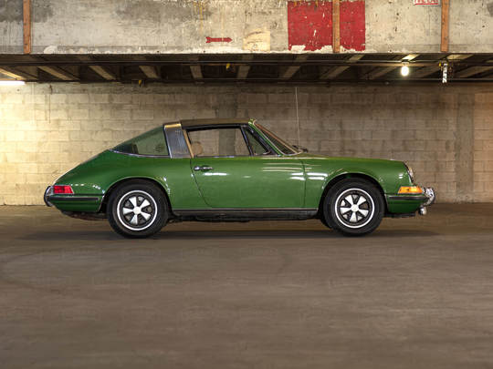 A 1971 Porsche 911T Prepares for Its Remake