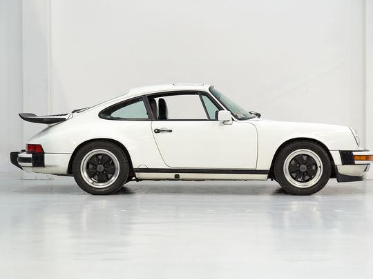 1987 Porsche 911 Carrera White WP0ZZZ91ZHS122355