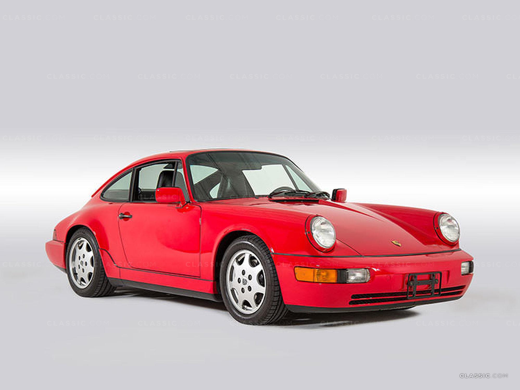 Straat 1989 Porsche Red
